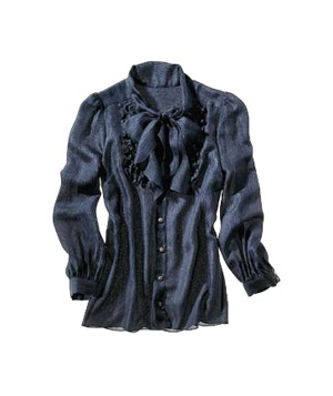 Milly silk shirt