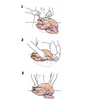 How to truss a turkey