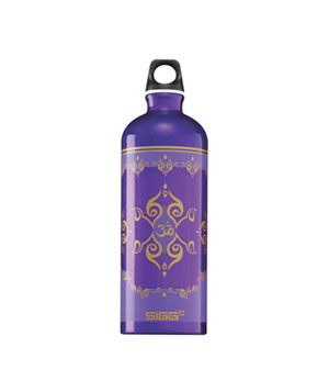 Taj Mahal violet water bottle