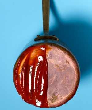 Ketchup as Copper Polisher