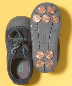 Penny as Tap Shoes
