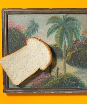 White Bread as Painting Cleaner