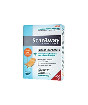 Scar-Away Silicone Scar Sheets