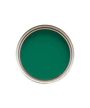 Emerald green paint