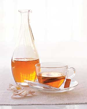 Carafe and teacup