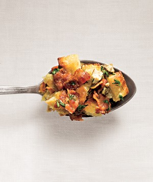 Oyster and Bacon Stuffing