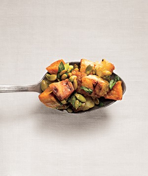 sweet potato and pepita stuffing