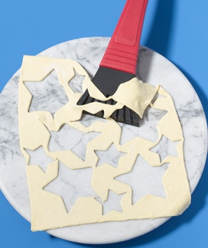 Ice Scraper as Pastry Dough Lifter