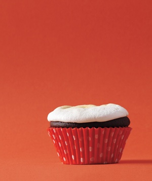 Marshmallow as Cupcake Frosting