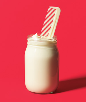 Mayonnaise used for hair conditioner