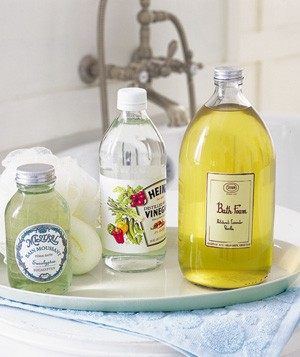 Vinegar as Bath Booster