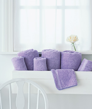 Window Box as Towel Storage