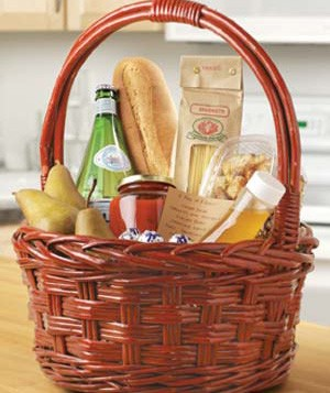 Easter Baskets as May Day Gifts