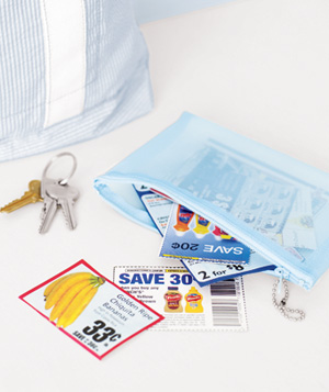 Coupon as Grocery Store Game