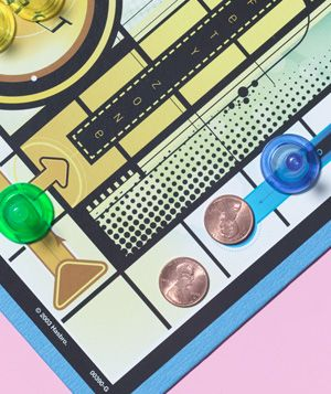 Penny as Replacement Game Piece