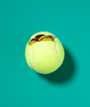 Tennis Ball as Weight