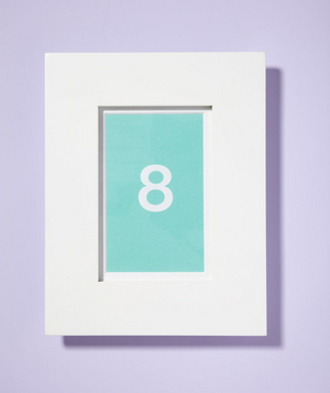 Frame as Table Numbers