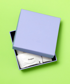 Gift Box as Sugar Holder