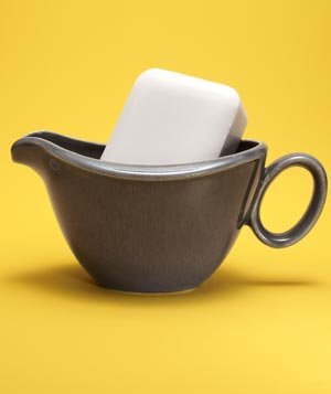 Gravy Boat as Unique Soap Dish