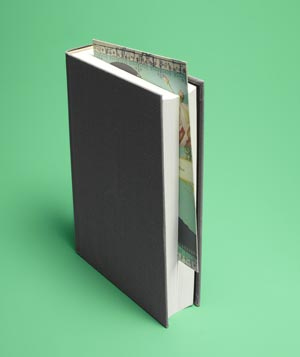 Greeting card as bookmark