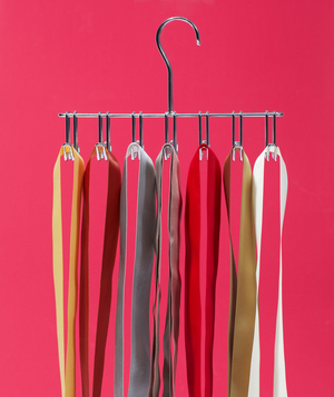 Hanger as Ribbon Organizer