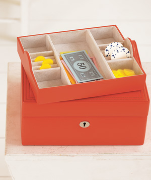 Jewelry Box as Game Piece Storage