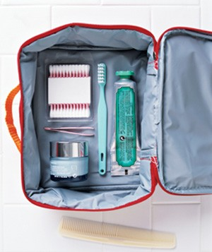 Lunch Box as Toiletries Bag