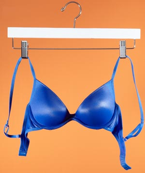 Pant hanger as lingerie dryer