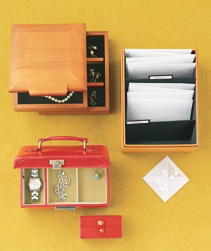 Photo Box as Jewelry Organizer