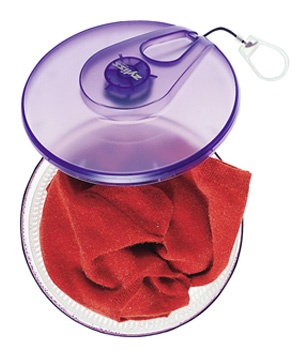 Salad spinner used to dry sweater