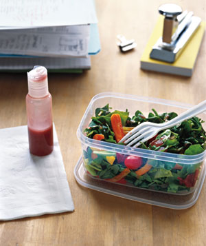 Travel Bottles as Salad Dressing Containers