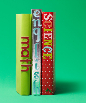 Stickers as Book Labels