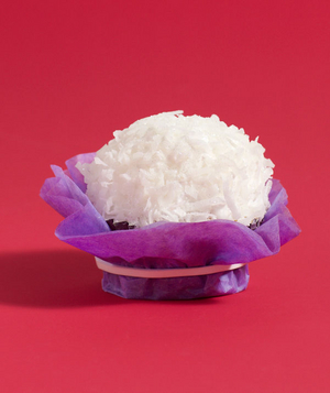 Tissue Paper as Cupcake Wrapper