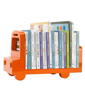 Bookshelf Bus Orange