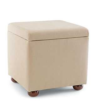Linden Street Ottoman with Tray