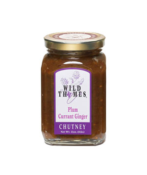 Wild Thymes Plum Currant Ginger Chutney