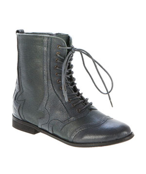 Bardot Lace-Up Boot