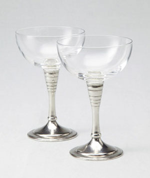 Champagne Glasses by Vellum
