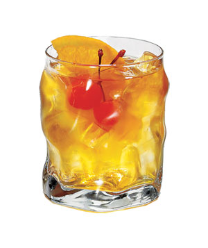 Double old fashioned glass