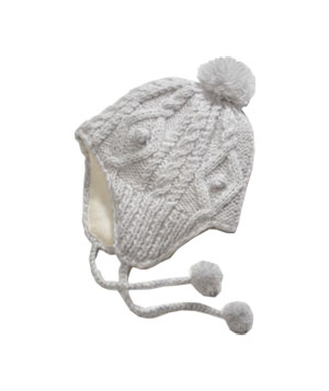 Cable Knit Trapper Hat by American Eagle