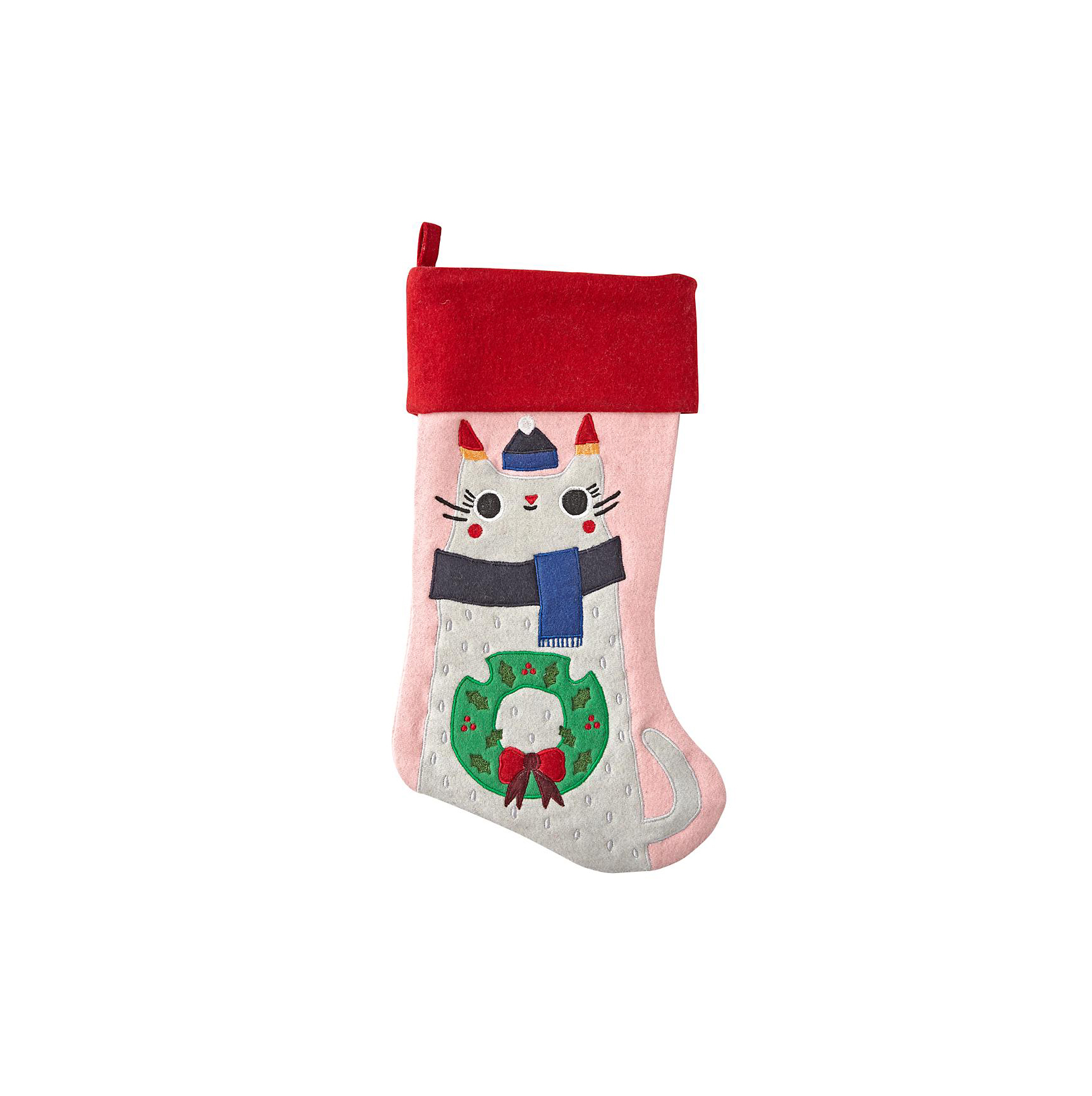Cat Merry Mascot Kitty Stocking