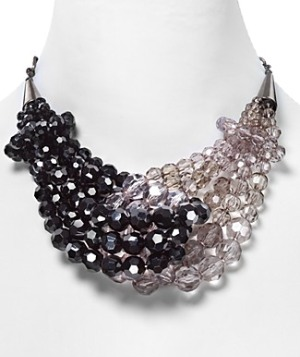 Lydell NYC Faceted Bead Necklace