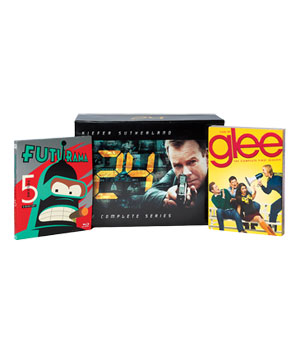 Futurama Volume 5, 24: The Complete Series and Glee Gift Set
