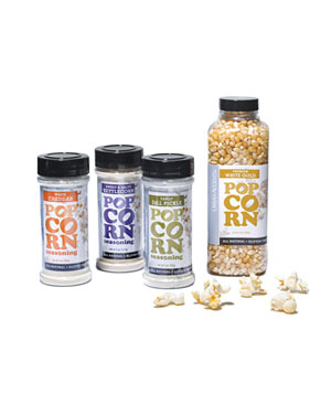 Urban Accents Popcorn and Seasonings Set
