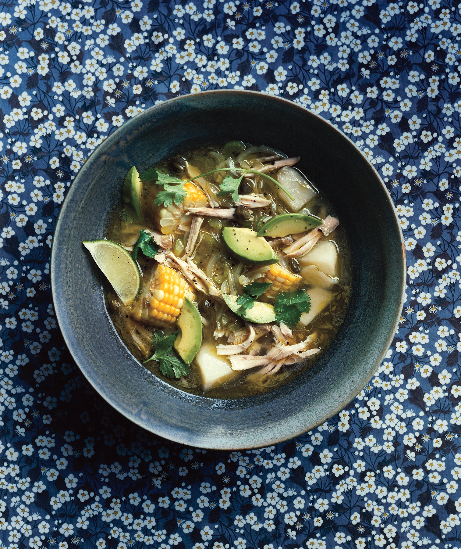 Colombian Chicken and Potato Soup