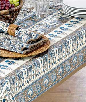 Punjabi Paisley Tablecloth