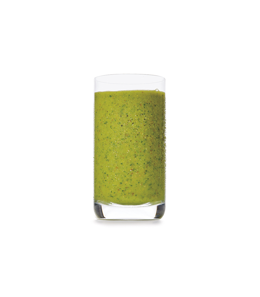 parsley-pineapple-banana-smoothie