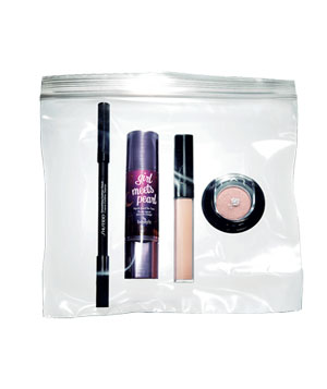 Make-up glamour kit concealer, eye shadow, eyeliner