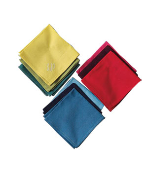 Tonal Cocktail Napkins