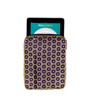 Stephanie Johnson Sueded-Fabric Case